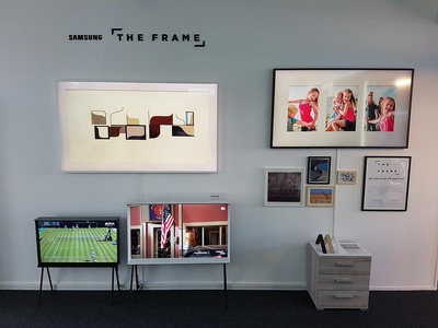 Showroom The Frame Samsung 2017